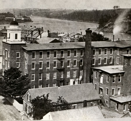 Cotton Mill - Major Manufacturing in Hallowell