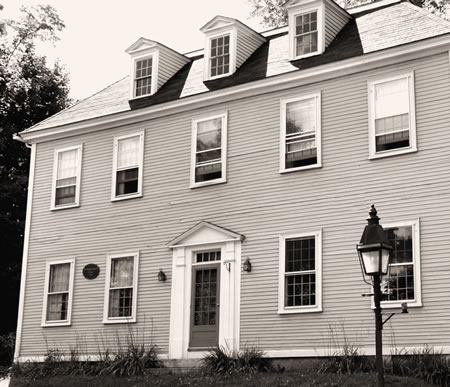 Dr. Benjamin Page House - Fighting Disease in Hallowell