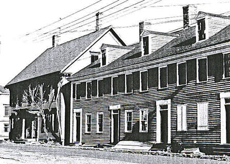 Row House - Living space for Hallowell Workers