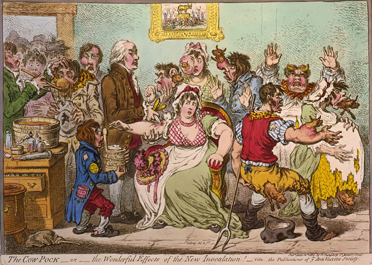 Credit – James Gillray